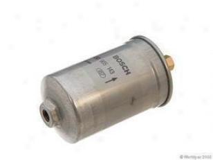 1982-1987 Audi 4000 Fuel Filter Bosch Audi Fuel Filter W0133-1631395 82 83 84 85 86 87