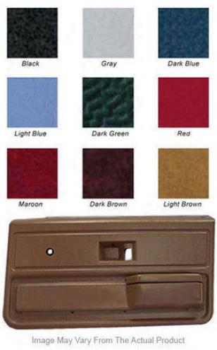1983-1988 Ford Ranger Door Panel Covverlay Ford Door Panel 12-50f-lbr 83 84 85 86 87 88