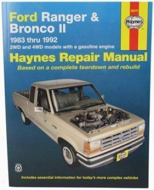 1983-1992 Ford Ranger Repair Manual Haynes Ford Repair Manual 36070 83 84 85 86 87 88 89 90 91 92