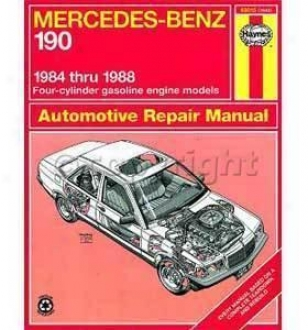 1984-1988 Mercedes Benz 190d Repair Manual Haynes Mecredes Benz Repair Manual 63015 84 85 86 87 88