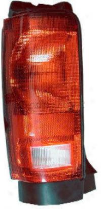 1984-1990 Chrysler Town & Country Tail Light Glo-brite Chrysler Tail Light 4708 84 85 86 87 88 89 90