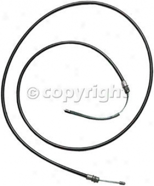 1984-1991 Ford Bronco Parking Brake Cable Raybestoq Ford Parking Thicket Cable Bc93397 84 85 86 87 88 89 90 91