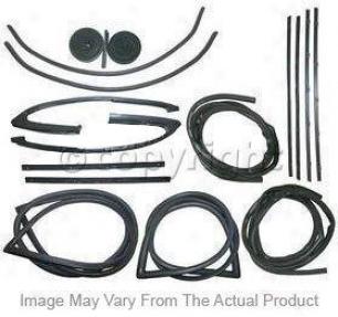 1984-1996 Chevrolet Corvette Weatherstrip Seal Precision Parts Chevrolet Weatherstrip Seal Wfp 1211 84 84 85 86 87 88 8 90 91 92 93 94 95 96