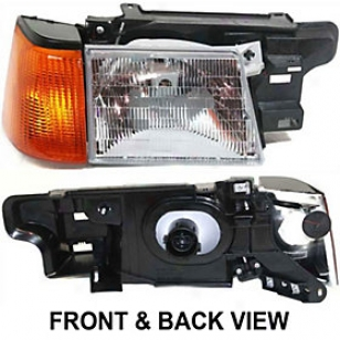1985-1990 Ford Escort Headlight Replacement Ford Headligh5 20-1600-00 85 86 87 88 89 90