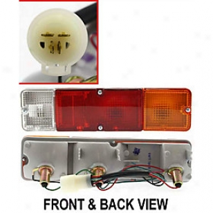 1986-1995 Suzuki Samurai Tail Light Replacement Suzuki Tail Light 11-1339-00 86 87 88 89 90 91 92 93 94 95