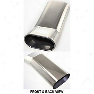 1986-2001 Acura Integra Exhaust Tip Kool Vue Acura Expend End Kv160115 86 87 88 89 90 91 92 93 94 95 96 97 98 99 00 01