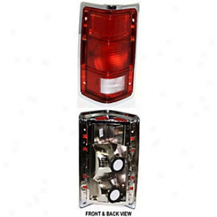1987-1988 Dodge Dakota Tail Light Replacement Dodge Tail Light Tri4720 87 88