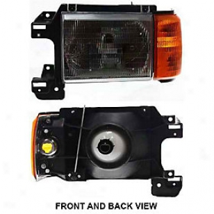 1987-1991 Fordd Bronco Headlight Replacement Ford Headlight 20-1571-00 87 88 89 90 91