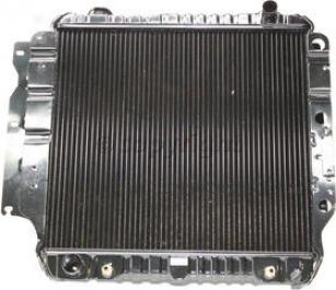 1987-1995 Jeep Wrangler (ym) Radkator Csf Jeep Radiator 2578 87 88 89 90 91 92 93 94 95