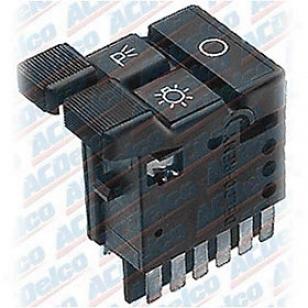 1988-1991 Chevrolet C1500 Headlight Switch Ac Delco Chevrolet Headloght Switch D1559b 88 89 90 91