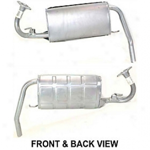 1988-1991 Hondq Civic Muffler Replacement Honda Muffler Reph961146 88 89 90 91