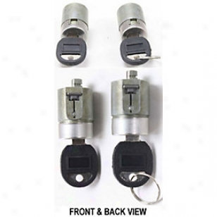 1988-1994 Chevrolet Blazer Door Lock Cylinder Replacement Chevrolet Door Lock Cylinder Repg507201 88 89 90 91 92 93 94