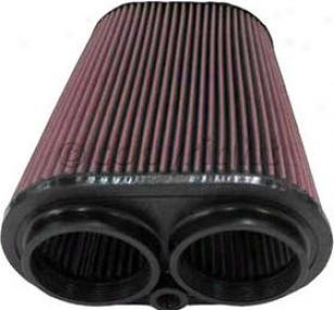 1988-1995 Ford Bronco Air Filter K&n Ford Air Filter Rf-1012 88 89 90 91 92 93 94 95