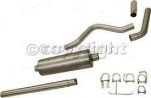1988-1995 Fofd F-350 Exhaust System Gibson Ford Exhaust System 319665 88 89 90 91 92 93 94 95