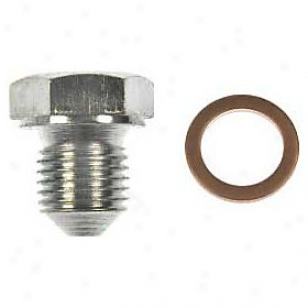 1989-1991 Audi 100 Oil Empty Chew Dorman Audi Oil Empty Plug 090-169 89 90 91