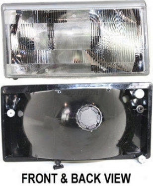 1990-1992 Volvo 740 Headlight Replacement Volvo Headlight V100111 90 91 92