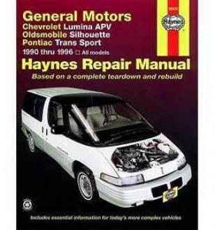 1990-1996 Chevrolet Lumina Apv Repair Manual Haynes Chevrolet Repair Manual 38035 90 91 92 93 94 95 96