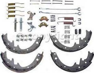 1990-1999 Jeep Cherokee Brake Shoe Set Crown Jeep Brake Shoe Set 472367mk 90 91 92 93 94 95 96 97 98 99