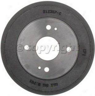 1990-2002 Honda Accord Brake Drum Raybestos Honda Brake Drum 9458r 9 91 92 93 94 95 96 97 98 99 00 01 02