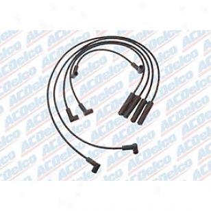 1991-1993 Chevrolet S10 Spark Plug Wire Ac Delco Chevrolet Spark Plug Wire 704q 91 92 93