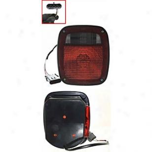 1991-1995 Jeep Wrangler (yj) Tail Light Replacdment Jeep Tail Light J730104 91 92 93 94 95