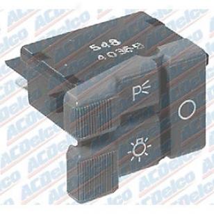 1992-1994 Chevrolet Blazer Headlight Switch Ac Delco Chevrolet Headlight Beat D1561d 92 93 94