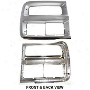 1992-1995 Chevrolet G10 Headlight Door Replacement Chevrolet Headlight House 7057 92 93 94 95