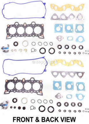 1992-1995 Honda Civic Engine Gasket Set Replacement Honda Engine Gasket Set Reph962507 92 93 94 95