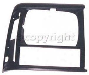 1993-1996 Jeep Chefokee Headlight Bezel Omix Jeep Headlight Bezel 12419.16 93 94 95 96