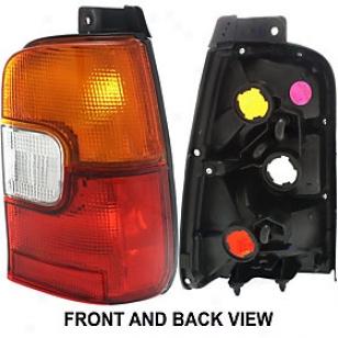 1993-1996 Toyota Corolla Limitation Light Replacement Toyota Skirt Light T730103 93 94 95 96