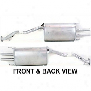 1993 Honda Accord Muffler Replacement Honda Muffler Reph961171 93