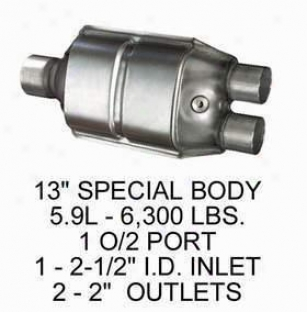 1994-1995 Dodge Ram 1500 Catalytic Converter Eastern Dodge Catalytic Converter 70535 94 95