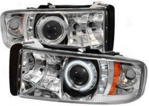 1994-2001 Dodge Ram 1500 Headlight Spyder Dodge Headlight Pro-yd-dr94-ccfl-c 94 95 96 97 98 99 00 01