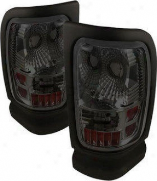 1994-2001 Dodge Ram 1500 Tail Light Spyder Dodge Tail Illumine Alt-on-dam94-sm 94 95 96 97 98 99 00 01