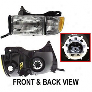 1994-2002 Dode Ram 1500 Headlight Replacement Dodge Headlight 20-3016-78q 94 95 96 97 98 99 00 01 02