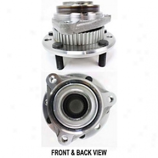 1995-1997 Chevrolet Blazer Wheel Hub Replacement Chevrolet Wheel Hub Repc283704 95 96 97