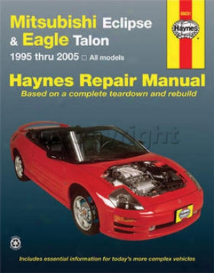 1995-1998 Eagle Talon Repair Manual Haynes Eagle Repair Manual 68031 95 96 97 98