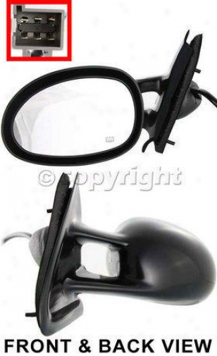 1995-2000 Chrysler Cirrus Mirror Kool Vue Chrysler Mirror Ch21el 95 96 97 98 99 00