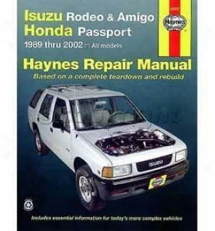 1995-2002 Honda Passport Repair Of the hand Haynes Honda Repair Manual 47017 95 96 97 98 99 00 01 02