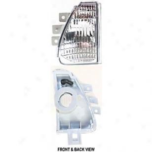 1996-1998 Nissan Quest Turn Sighal Light ReplacementN issan Turn Signal Light 12-1572-01 96 97 98