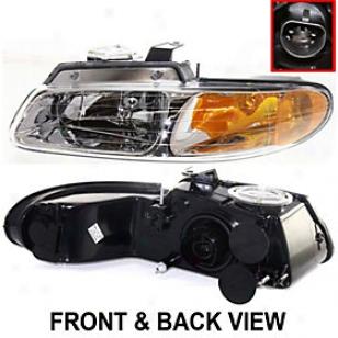 1996-1999 Chrysler Town & Country Headlight Replacement Chrysleer Headlight 20-3164-88 96 97 98 99