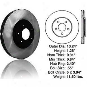 1996-2000 Chrysler Sebring Brake Disc Centric Chr6sler Brake Disc 120.63041 96 97 98 99 00
