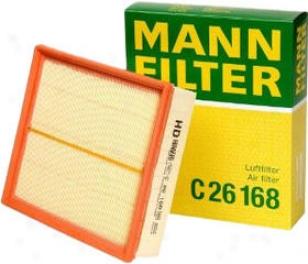 1996-2001 Audi A4 Air Filter Mann-filter Audi Air Filter C26168 96 97 98 99 00 01