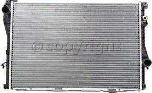 1997-1998 Bmw 540i Radiator Csf Bmw Radiator 2918 97 98