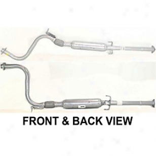 1997-1999 Acura Cl Muffler Replacement Acura Muffler Reph961138 97 98 99