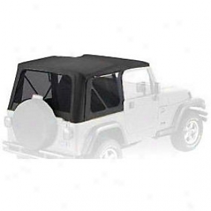 1997-2002 Jeep Wrangler (tj) Sft Top Bestop Jeep Soft Top 51180-15 97 98 99 00 01 02