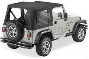 1997-2002 Jeep Wrangler (tj) Soft Top Pavement Ends Jeep Soft Top 51198-33 97 98 99 00 01 02