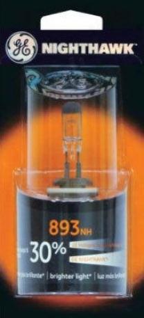 1997-2003 Buick Century Fog Light Bulb Ge Lighting Buick Haze Light Bulb 893/bp 97 98 99 00 01 02 03
