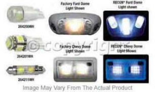 1997-2003 Ford F-150 Dome Light Recon Fo5d Dome Light 264163 97 98 99 00 01 02 03