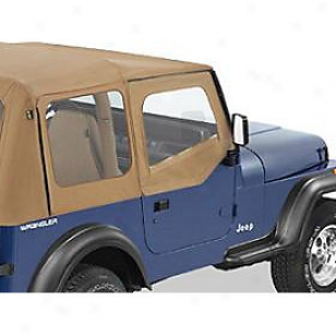 1997-2006 Jeep Wrangler (tj) House Skin Cloth Bestop Jeeep Door Skin Cloth 53121-37 97 98 99 00 01 02 03 04 05 06
